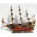 【お届けまで1〜2か月】木製手作り・大型帆船模型 ソブリン・オブ・ザ・シーズ 90cm【 完成品 】【代金引換不可】【RCP】「通販のオファー」 /送料無料