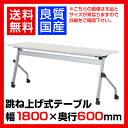 【国産】スタッキングテーブル LCS 幅1800×奥行600mm・パネルなし/NI-LCS-1860