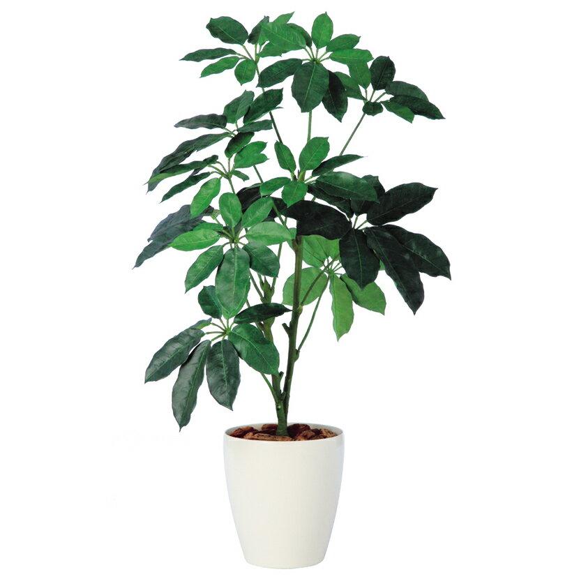 観葉植物 人工 樹木 ブラッサイア 高さ1200mm Sサイズ 鉢:RP-265