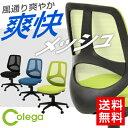 オフィスチェア コレガ メッシュ シンクロロッキング機能 高さ調整 デスクチェア パソコンチェア pcチェア メッシュチェア 腰痛対策 腰痛 オフィス家具 学習チェア 学習椅子 事務イス 事務椅子 イス オフィスチェアー 疲れにくい CHAIRPO30