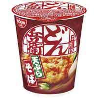 日清食品 タテ型どん兵衛天ぷらそば 20食入(10セット)