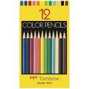 トンボ鉛筆 色鉛筆紙箱CQ-NA12CJT 12色