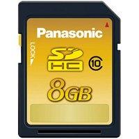 Panasonic メモリーカード 8GB RP-SDWA08GJK(10セット)
