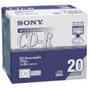 SONY CD−R [700MB] 20CDQ80DPWA 20枚