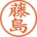 シヤチハタ ネーム6既製 XL-6 1749 藤島(10セット)