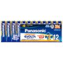 Panasonic エボルタ乾電池 単4 12個 LR03EJ12SW