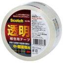スリーエムジャパン 透明梱包用テープ 313 1PN