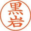 シヤチハタ ネーム9既製 XL-9 0999 黒岩