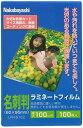 Nakabayashi(ナカバヤシ)ラミネートフイルム100-100/名刺判 LPR-61E2