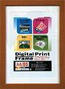 Nakabayashi(ナカバヤシ)デジタルプリントフレーム/A4/ブラウン フ-DPW-A4-BR