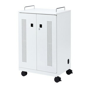 サンワサプライ タブレット収納キャビネット(40台収納) CAI-CAB102W サンワサプライ タブレット収納キャビネット(40台収納) CAI-CAB102W