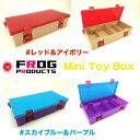 今だけ10%off!! FROG PRODUCTS/フロッグプロダクツ 【Mini Toy Box/ミニトイボックス】トップ道 荒井謙太