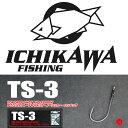 10%off! 送料250円 ICHIKAWA FISHING / イチカワ フィッシング 【 TS-3 / ティーエス3 】 オフセットフック 市川 いちかわ リッククラン(代引き不可商品/同梱発送可)