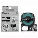 テプラPROテープマット透明/白文字SB9TS