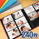 セラピーカラー 6面ポケットアルバム TCPK-6L-240 L判2列×3段タイプ 240枚収納