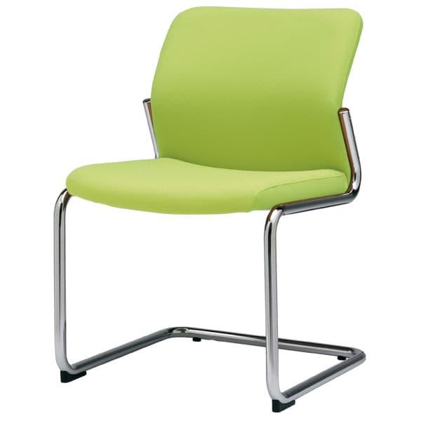 【受注生産品】生興 ミーティングチェアー MC-S220シリーズ カンチレバー 肘なし 布張り MC-S222F オフィス家具からオシャレ家具・激安家具まで!家具の事なら『かぐの窓口』へ♪カンチレバーのミーティングチェア