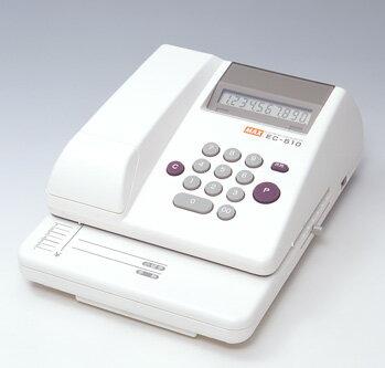 マックス<MAX> 電子チェックライター スタンダードタイプ 10桁印字 EC-510(EC90002)【送料無料】 【RCP】 02P05Nov16