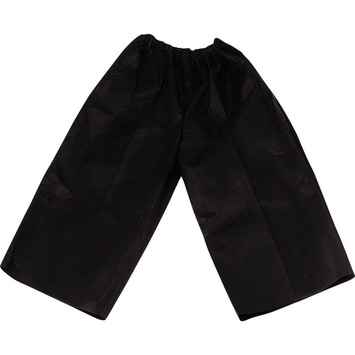 【メーカー欠品中 12月中旬入荷予定】Artec(アーテック) 衣装ベース J ズボン 黒 #1954