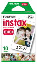 FUJIFILM<富士フイルム>インスタントカメラ チェキ専用 インスタントカラーフィルム instax mini 10枚パック instax mini k r 1 【RCP】 P20Aug16