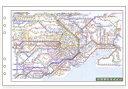 【メール便なら送料190円】レイメイ藤井 ダ・ヴィンチ リフィル 聖書サイズ 情報 広域鉄道路線図 DR353