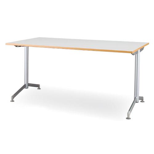 フークテーブルT字脚塗装タイプ 幅1500mm×奥行750mm 荷物がかけられるオシャレなテーブルです。