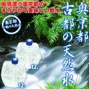 【2〜3営業日以内に出荷】【送料無料】奥京都「古都の天然水」12リットル×2本北海道・沖縄・離島は送料無料対象外となります。[賞味期限:製造から3ヶ月]