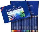 FABER-CASTELL(ファーバーカステル) アートグリップ水彩色鉛筆 36色(缶入)114236 (7200) 【RCP】