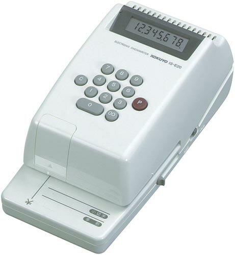 コクヨ KOKUYO コクヨS&T 電子チェックライター IS-E20 印字桁数8桁 チェックライター [IS-E20] [IS] 【RCP】