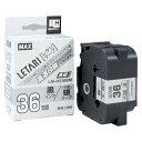 ビーポップ ミニ PM−36H/PM−3600用テープ(高速/高解像度印刷用)【マックスMAX】LM-H536BM銀