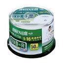 データ用DVD-R 4.7GB 1-16倍速 50枚 IJP対応日立マクセル DR47WPD-50SPA