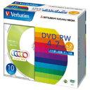 DVD-RW 4.7GB DHW47NM10V1 10枚【三菱化学】