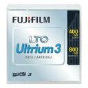 LTOデータカートリッジ Ultrium3 400GB/800GB 1巻 LTOFBUL-3400GJ【富士フイルム】