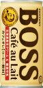サントリーBOSS カフェオレ 185g×6缶FBCG6