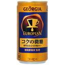 水, 饮料 - ジョージア ヨーロピアン185g/30缶【東京コカ・コーラボトリング】