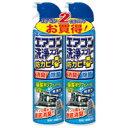 エアコン洗浄スプレー2本パック 無香性【アース製薬】893858
