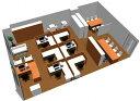 【送料無料】【smtb-TK】【クリエイティブ】SOHO家具パッケージ・80平米(7人用) 図面を広げての作業にも充分な広さのデスク【YDK...