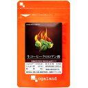 コーヒークロロゲン酸 (約6ヶ月分)送料無料 オーガランド サプリ サプリメント クロロゲン 燃焼系...