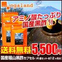 お徳用国産福山黒酢カプセル(4個セット・約1年分) 送料無料 supplement 人気にわけあり