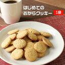 はじめてのおからクッキー 500g チャック付き [ おからクッキー 訳あり 送料無料 お試し ダイエット食品 ダイエット お菓子 ダイエッ..