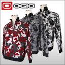 オジオ (OGIO) フルジップ カモ柄ニットブルゾン メンズ