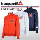 ルコックゴルフ(Le coq sportif) バックプリント ウィンドブレーカー レディース
