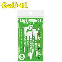 【ネコポス対応】 ライト(LITE)LINE ゴルフティーセット(4本入)の画像