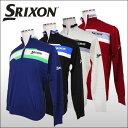 【30%OFFセール】 スリクソン(SRIXON) ハーフジップ ニットセーター 【松山英樹プロ 着用モデル】 ダンロップ メンズ