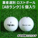(ABランク)本間ゴルフ D1 ホワイト 6個入り 業者選別 ロストボール HONMA D1 ディーワン