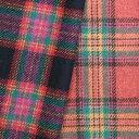 ウール【18480】【柄物】【送料無料】【ウール生地】カラー全2色【50cm単位 切り売り】【ウールツイード】18480-60☆ジャケットやスカート ワンピース ストールなど小物にも
