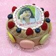 生チョコレートケーキ バースデーケーキ お誕生日 パーティー 記念日 サプライズ(丸)5号