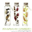 ハーバリウム ナチュラル Herbarium [植物標本]ボトルメッセージもOK ヒーリングボトル プリザーブドフラワー インテリアドライフラワー 誕生日祝 結婚祝い 祝電 自分へのご褒美に