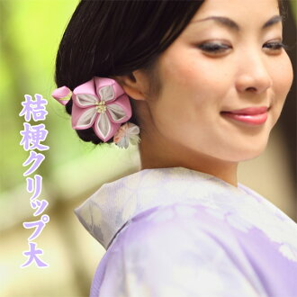 Large flower Kikyo hairclip
