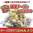 『驚愕の約100本&送料無料!』「チーズおやつカマンベールDHA入り300g」【メール便発送】