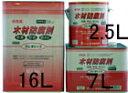 クレオソートに代わる新しい木材用防腐剤クレオトップ(ブラウン色) 2.5L